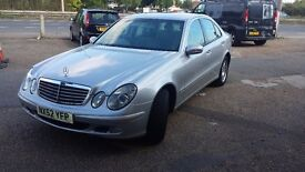 Mercedes E220CDI IN GREAT CONDITION WITH SERVICE HISTORY