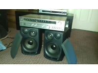 Technics Amp+Aiwa Speakers