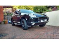 "Porsche cayenne Tiptronic 4.5 S low tax £1000,s extras Bluetooth Black with 20"" Black alloys, nav"
