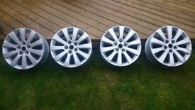 Vauxhall Astra J 1.7 and 2.0 diesel or zafira C tourer 17 inch alloys