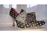 Irregular choice spotted heels