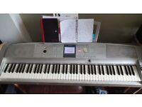 Yamaha DGX505 Portable Grand Piano - 88 keys