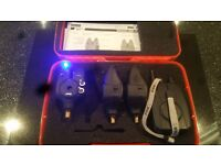 MXR+ alarms 3 rod set up with receiver excellent condition