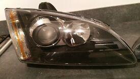 Ford Focus Adaptive Headlight Projector lens black Pair