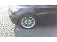 Bmw M sport alloy wheels 18 inch genuine bmw