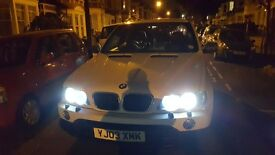BMW X5 SPORT DIESEL AUTOMATIC WRAPPED IN WHITE
