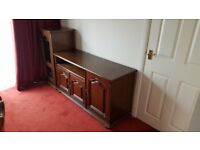 TV unit/ sideboard,music unit, corner unit all matching.