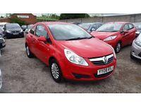 Vauxhall Corsa 1.0 i 12v Life 3dr FULL SERVICE HISTORY