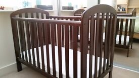 Obaby Lily Cot with Mattress