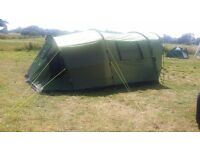 Urban Escape 5 man Tent with two bedrooms