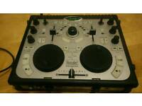 DJ Console Hercules multi channel USB soundcard DJ Mix controller nice condition