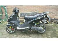 Moped 50cc direct bikes no mot not running new battery turns over not running must go spares or fix
