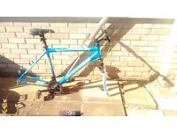 3 Bikes (could do with some tlc but 2 nice frames with suspension etc)