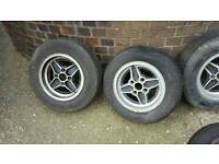 Set of RS wheels