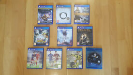 PS4 Games: Fifa 16 17 18, Destini, Deus Ex, The Elder Scrolls, Star Wars, Naruto. (Offer or Swap)