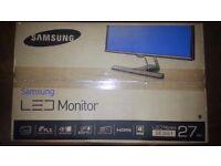 "SAMSUNG Full HD (1080p) Monitor S27E391H LED - 27"""