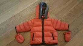 Boys 3-6 months coat