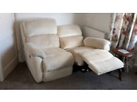 Two, two seater recliner sofas good condition all working correctly