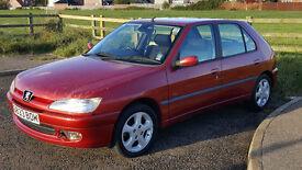 Peugeot 306 XSI 2.0L Petrol 1998 Hatchback