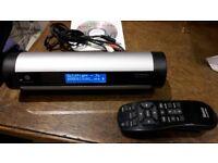 Pinnacle Roku Soundbridge Homemusic music streamer, internet radio player with stand, remote, psu