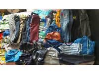 Big bundle of boys clothes age 6-7
