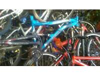 10 bikes for spares some easy fix
