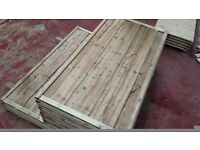 🌟 First Class Heavy Duty Waneylap 8mm Boards Fencing Panels