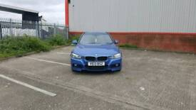BMW 318D M Sport 2013 Estoril Blue F30 F31 Touring Estate ( NOT 320 D 320D Saloon ) 3 Series 318 D