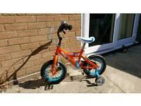 "Disney Planes child's bike- 12"""