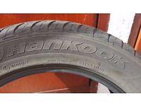Hankook tyres 255/50R19 bmw X5