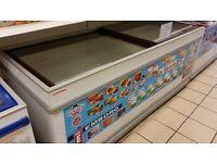 display chest freezer