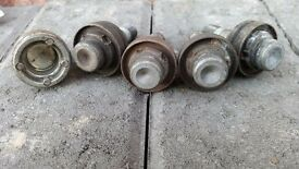 Peugeot 206 GTI 180 locking wheel nuts