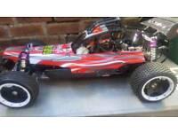 Yama buggy 26cc petrol rc 1/5 scale not fg