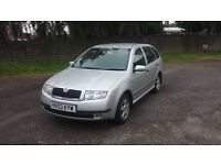 Skoda Fabia Comfort 17000mil 2003 Mot Tax Well maintained Cheap