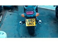 zzr 1100 d very low miles 10900 1 owner