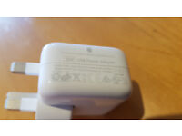Genuine Apple 10W UK Mains Adapter USB Charger Official iPad iPhone iPod
