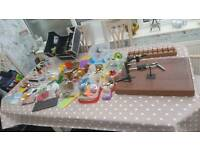 Fly fishing and tying lot