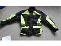 Motorbike salopettes ..motorbike jacket
