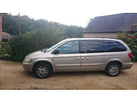 Chrysler Grand Voyager - good load or people carrier, with tow bar for quick sale