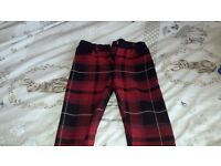 Girls river island trousers