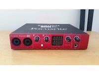 Focusrite Scarlett 18i6 Audio Interface (used)