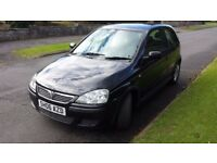 Vauxhall Corsa 1.2 Black Edition 2006 06 reg Excellent car £595