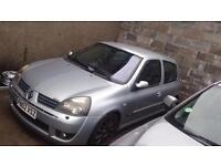 Renault clio 2.0 16v 172 sport road track car not 182 197 200