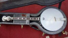 Gold Tone IT 250 short scale 17-fret Irish tenor banjo.