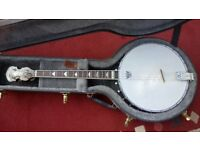 Gold Tone IT 250 short scale 17-fret Irish tenor banjo.