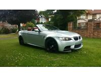 "BMW M3 4.0 V8 CONVRTIBLE RED LEATHER,SAT NAV,19""ALLOYS,IDRIVE,PDC,HEATED ELEC SEATS,CD CHNGR,AUX,USB"