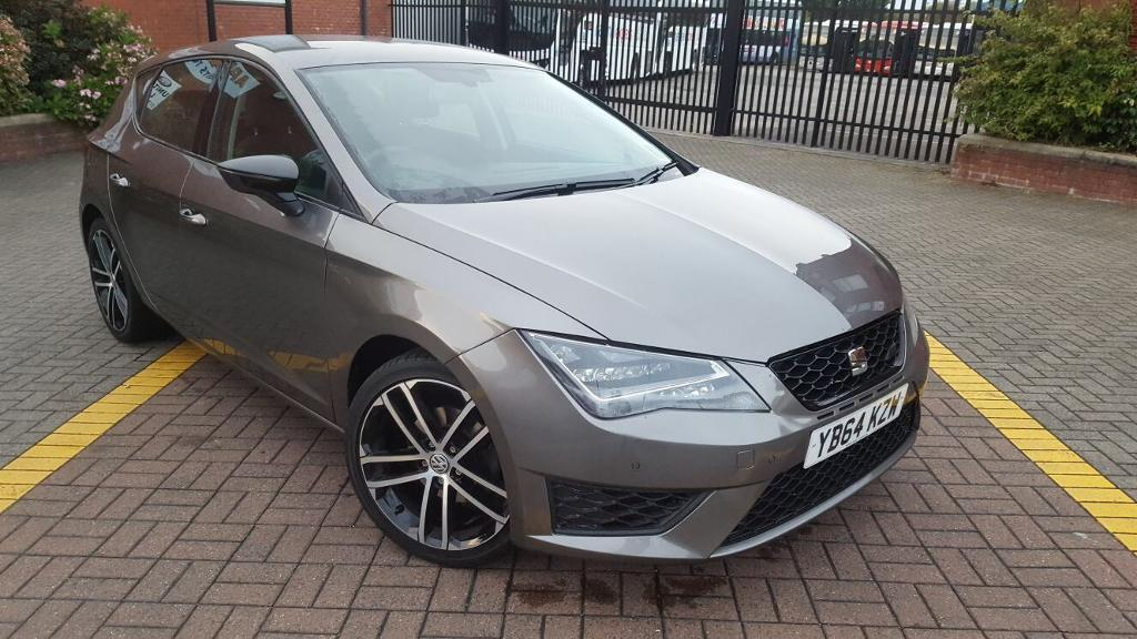 SEAT LEON 2015 (64) 1.6 TDI ECOMOTIVE SE TECK PACK FULL HISTORY LOW MILAGE (55k) FULLY LOADED