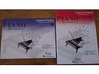Piano Adventures books