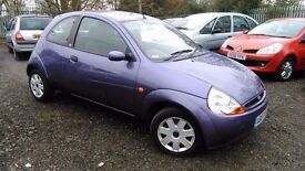 Ford KA 1.3 Style Climate 3dr. HPI CLEAR. LONG MOT. GOOD CONDITION.GREAT FOR NEW DRIVERS.P/X WELCOME