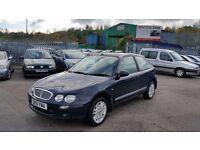 2001 (51 Reg) Rover 25 1.4 Impression For £295, Mot'd until 30/03/2017 only 55k Miles
